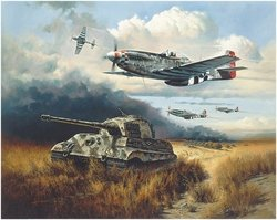 Normandy Tiger Hunt<br> By Heinz Krebs<br>