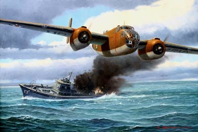 "On The Way to China<br> By Steve Anderson<br>  <b style= ""color: blue; font-weight:bold,"">    Doolittle Raid</b>"