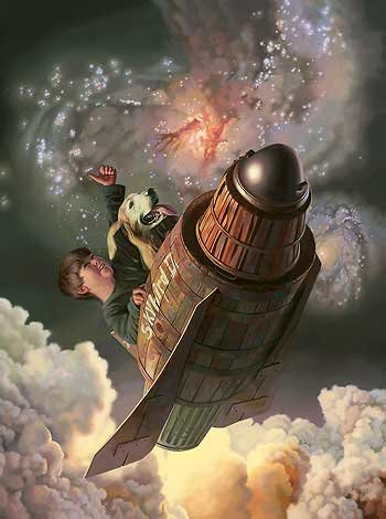 One Small Step - Boy and Dog <br> NEW RELEASE by Bob Byerley<br>