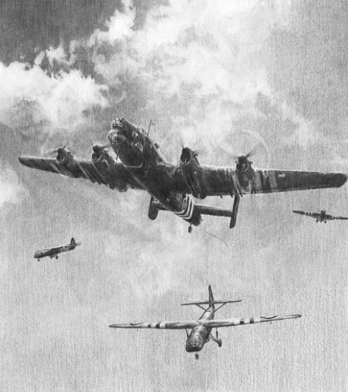 Out of The Night - The First To Go In<br> Halifax Bomber <br>By Robert Taylor<br>