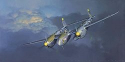 P-38 Lightning By Jack Fellows:  $50<br>