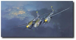 P-38 Lightning By Jack Fellows:  <br>