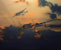 P-38 Lightning <br> NEW GICLEE RELEASE<br> By Brian Bateman