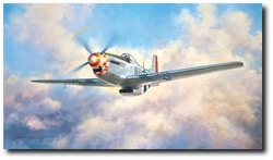 "P-51 Mustang <br> By John Young<br><b style=""color:red;font-weight: bold;"">ORIGINAL AVAILABLE</b>"