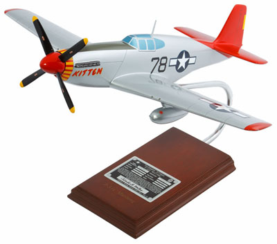 "P-51 Mustang ""Kitten"" - Signed by Charles McGee<br>"