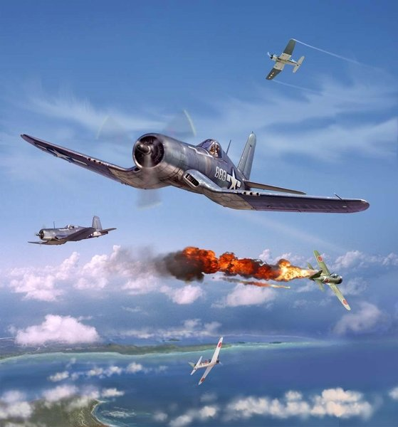 Pappy Boyington<br> NEW GICLEE RELEASE<br> By Jim Laurier