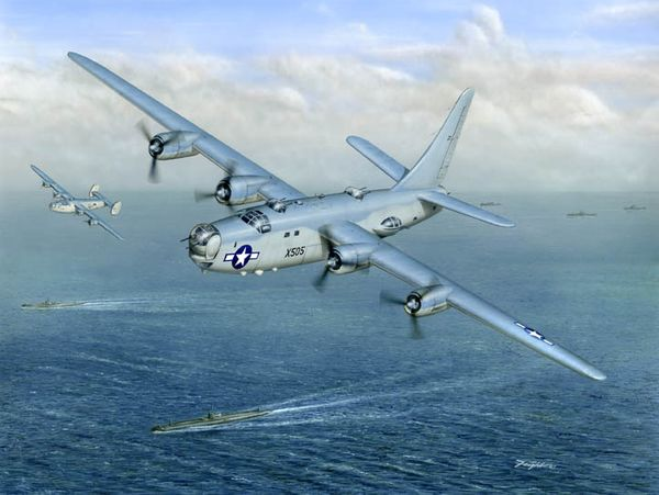 Navy Lib <br>PB4Y-1 Liberator<br> By Don Feight<br>