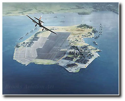 """<b>""""PEARL HARBOR 07:55 - WHILE THE GIANT SLEPT"""" by DRU BLAIR"""