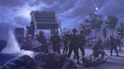 Pegasus Bridge - Airborne Storm<br> By Simon Smith