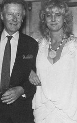 Peter Townsend and Virginia Bader