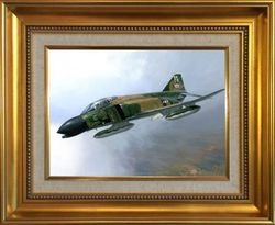 PHANTOM LEGEND - ORIGINAL PAINTING by DARRYL LEGG - Robin Olds