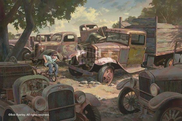 PIT ROW by BOB BYERLEY