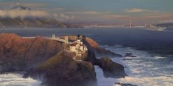Point Bonita - Last Light By Bill Phillips