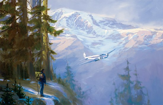 Rainier Encounter<br> By Jack Fellows