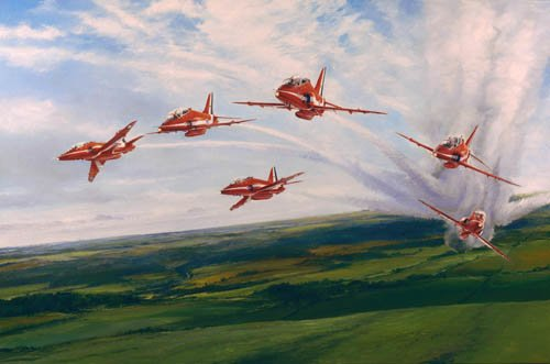 Red Arrows<br> By Robert Taylor