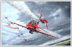 """<big><center>�Red Arrows�   <b style= """"color: red;font-weight:bold,"""">     NEW RELEASE </b>       by Michael Rondot </big></center>"""
