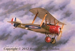 Red Nose Pup<br>By Russell Smith<br>  Sopwith Pup<br>
