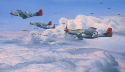"�Fighting Red Tails� <br> By Robert Taylor<br>   <b style=""color:red;font-weight: bold;"">   TUSKEGEE AIRMEN</b>"