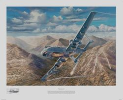 "r <br>THUNDER OVER KUNAR"" by RICK HERTER<br> A-10"