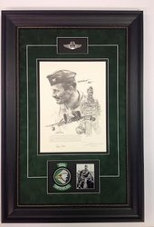 ROBIN OLDS by JOHN SHAW - Framed