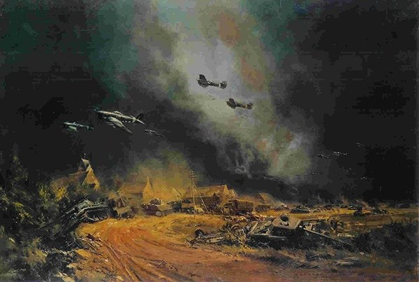 Rocket Flying Typhoons at The Falaise Gap