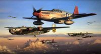 SAFE PASSAGE by JOHN SHAW - Tuskegee Airmen