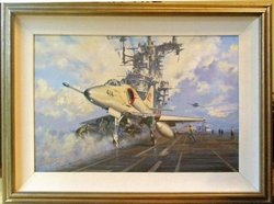 "Scooter To Go - A-4 Skyhawk by John Young<br>  <b style=""color:red;font-weight: bold;"">ORIGINAL AVAILABLE</b>  <br>"