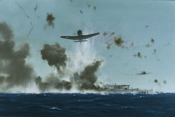 Scratch-One Flattop <br>Battle of the Coral Sea<br>