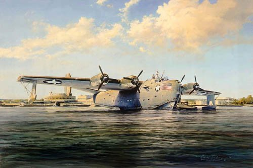 Sky Giant<br> Pan Am PB2Y Coronado<br>By Robert Taylor<br>