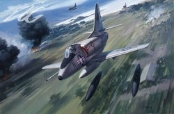 SKYHAWK TRIBUTE by ROY GRINNELL - A-4 - Multi Signature