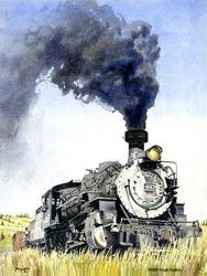 Smokin' - K-36 Locomotive<br>by Don Feight
