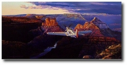 SOLITUDE ABOVE THE GRANDEUR<br> by RICK HERTER<br>ORIGINAL </b>