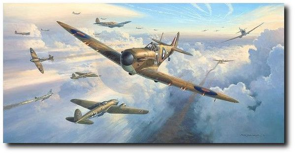 Spitfires Into Battle <br> NEW RELEASE by Mark Postlethwaite