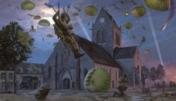 St  Mere- Eglise- NEW RELEASE by Simon Smith