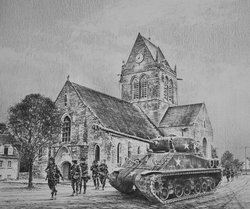 St Mere Eglise<br>By Richard Taylor<br>