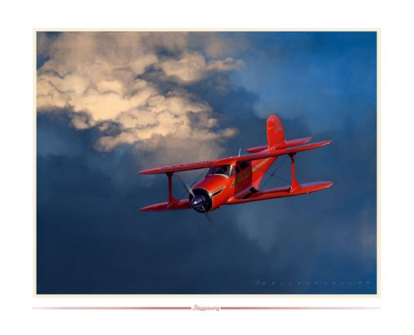 """Staggerwing<br>By Jack Fellows<br><b style=""""color:red;font-weight: bold;"""">""""NEW"""" </b>"""