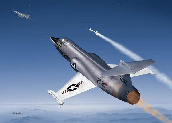Star Fighter<br>By Don Feight <br> F-104