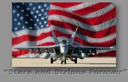 Stars and Stripes Forever <br> By Dru Blair <br>