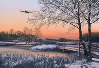 """STRAGGLER AT DAWN -<b style= """"color: red;font-weight:bold,"""">NEW RELEASE</b>    by RICHARD TAYLOR - $125"""