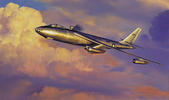 Stratojet Shakedown<br> Signed by Paul Tibbets<br>By Craig Kodera<br>