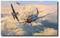 "STRUGGLE FOR SUPREMACY  by ROBERT TAYLOR -  <b style=""color:red;font-weight: bold;"">NEW</b>  Giclee Release"