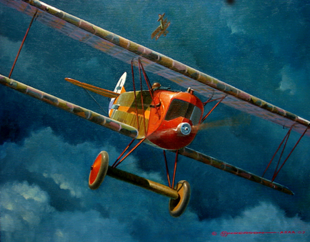 Study in Fokker<br> By Steve Anderson<br>