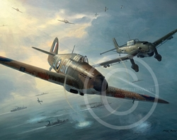 STUKA IN MY SIGHTS by MARK POSTLETHEWAITE -  $85