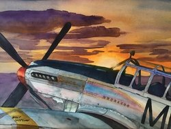 �SUNRISE MUSTANG� by Walt Costilow