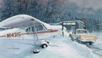 Super Cub's Day Off <br>by Burt Mader