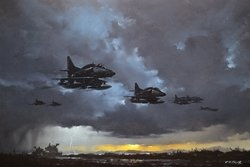 A-4 Skyhawks Supporting The Troops <br>