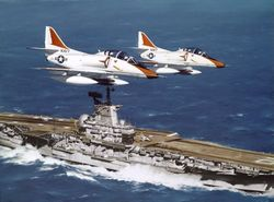 TA-4's OVER THE LADY LEX by R.G. SMITH