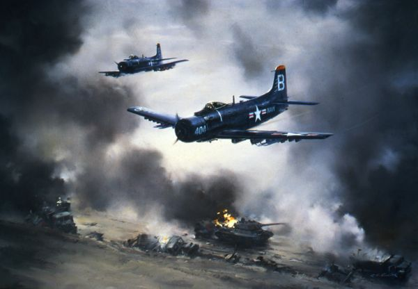 Tank Busters - A-1 In Korea<br>