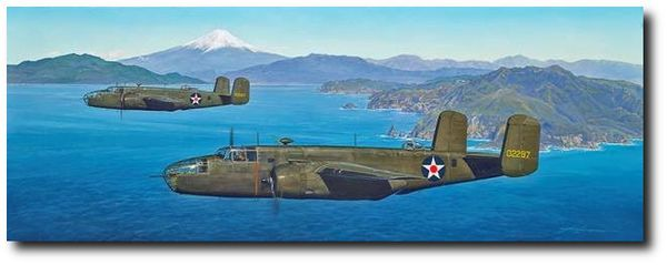 "TARGET: NAGOYA - New Canvas Release<br> by CRAIG KODERA<br>  <b style= ""color: blue; font-weight:bold,"">      Doolittle Raid<br></b>"