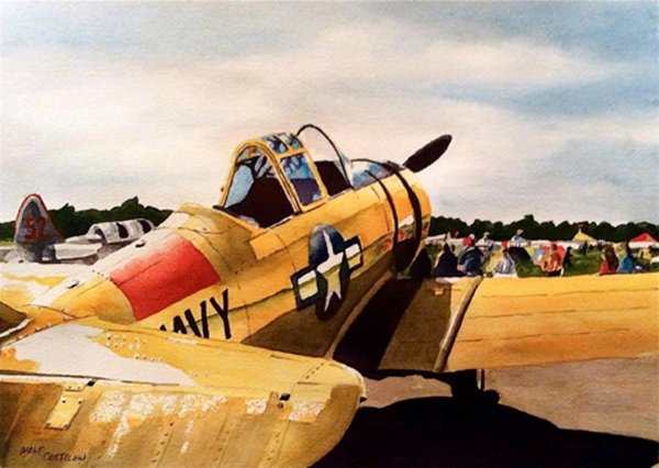 T-6 Texan by NEW ARTIST <br>Walt Costilow